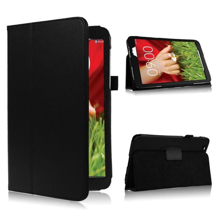 """LG G Pad 8.3"""" (V500) - kožené pouzdro se stojánkem"""