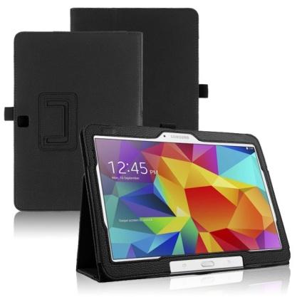 Samsung Galaxy TAB 4 10.1 - kožené pouzdro se stojánkem