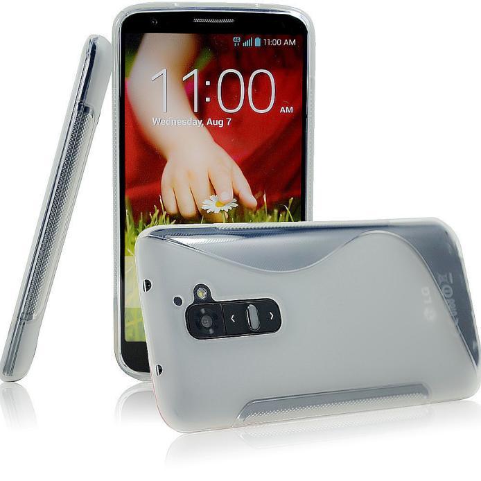 LG G2 - gelové pouzdro (kryt) S-Line - čiré
