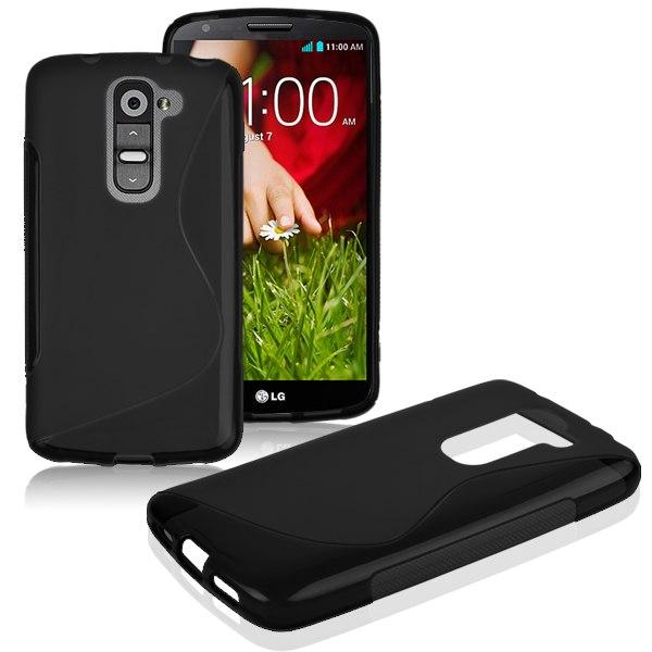 LG G2 Mini - gelové pouzdro (kryt) S-Line - černé