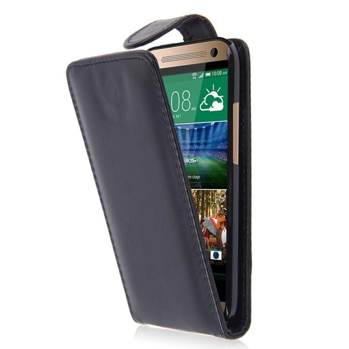 HTC ONE 2 Mini (M8 Mini) - pouzdro (kryt) na výšku - černé
