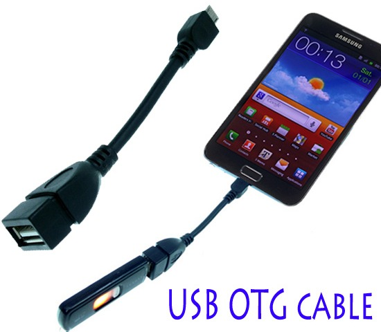 Kabel OTG USB Host pro Samsung Galaxy S6 S5 S4 S3 S2 Note 2 3 4 s micro USB