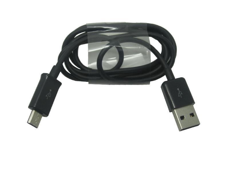Kabel propojovací MICRO USB pro Samsung Galaxy S2 S3 S4 S5 S6 NOTE a další černý