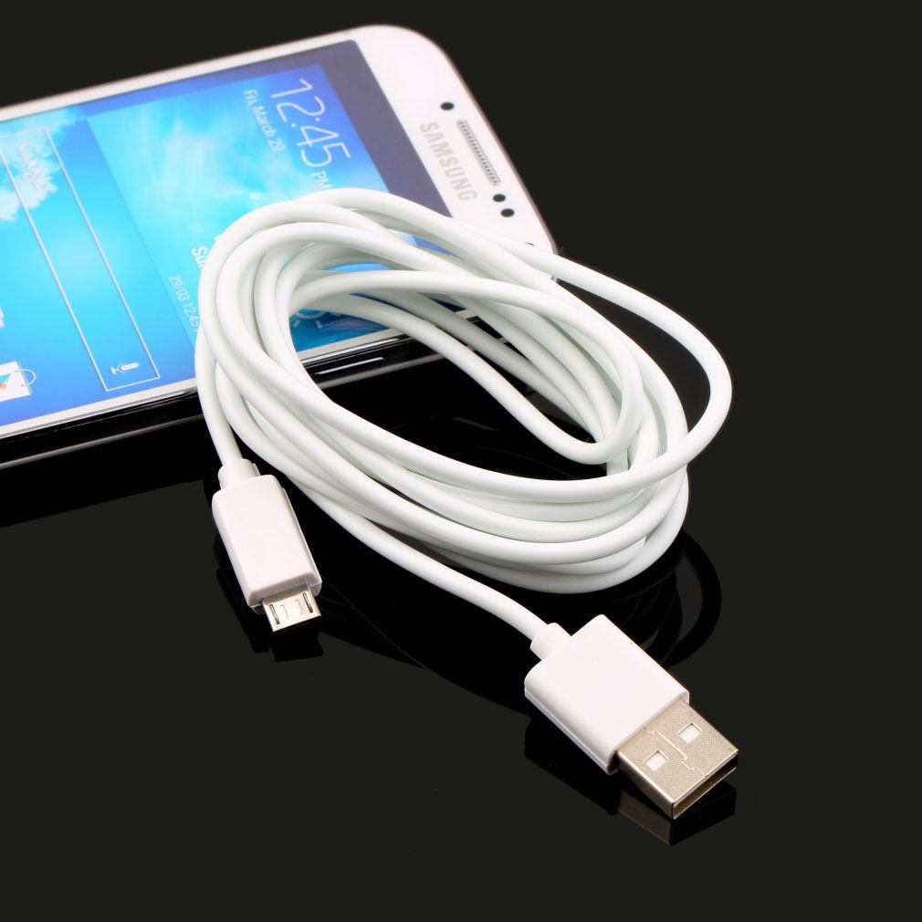 Kabel propojovací MICRO USB délka 2m pro Samsung Galaxy S2 S3 S4 S5 S6 NOTE
