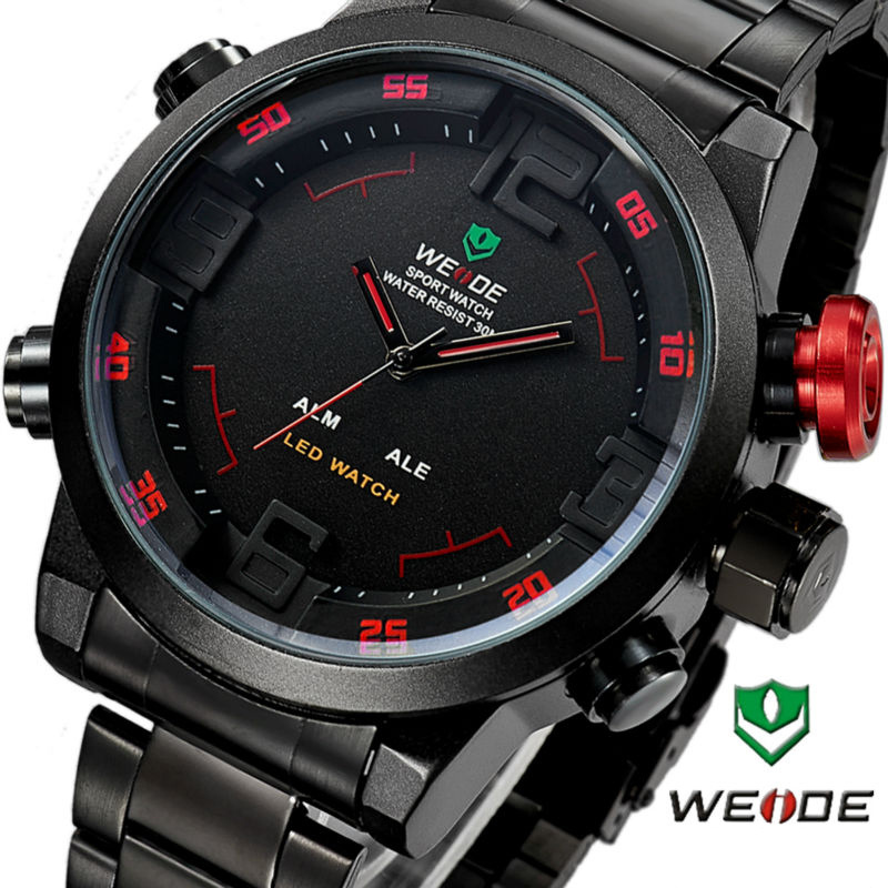 Hodinky WEIDE WH-2309B (Black)