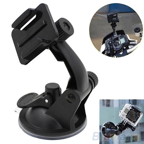Držák na sklo pro kamery GoPro HERO 1 2 3 3+ 4 / GitUp / SJ4000 a další