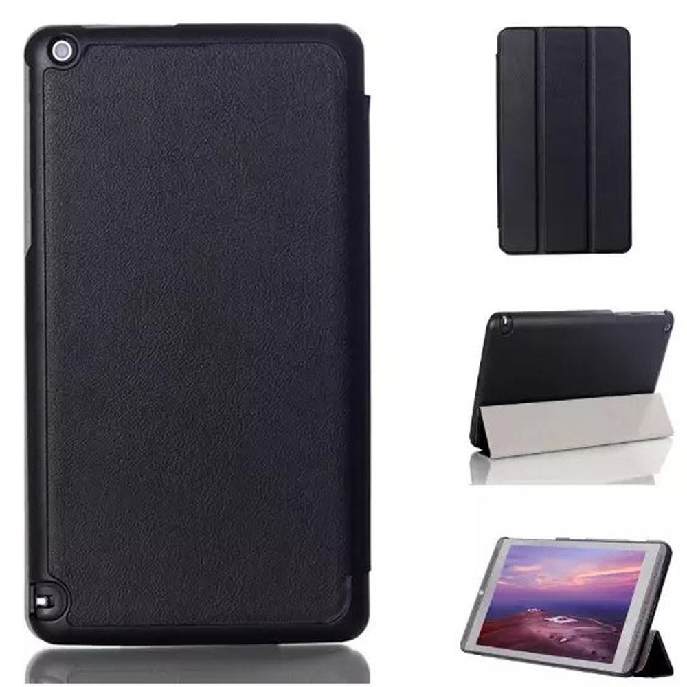 NVIDIA SHIELD Tablet K1 - kožené pouzdro kryt obal se stojánkem - černé