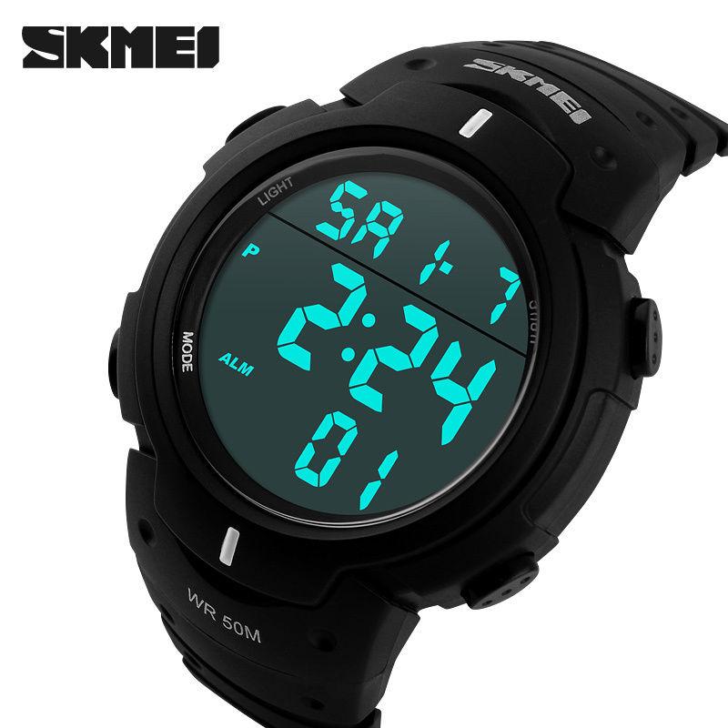Hodinky SKMEI 1068 SERIES (pánské sportovní digitální vodotěsné hodinky)