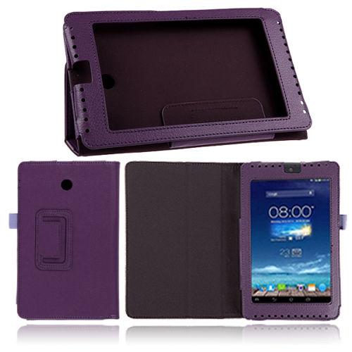 ASUS Fonepad 7 ME372CG - kožené pouzdro se stojánkem (fialové)