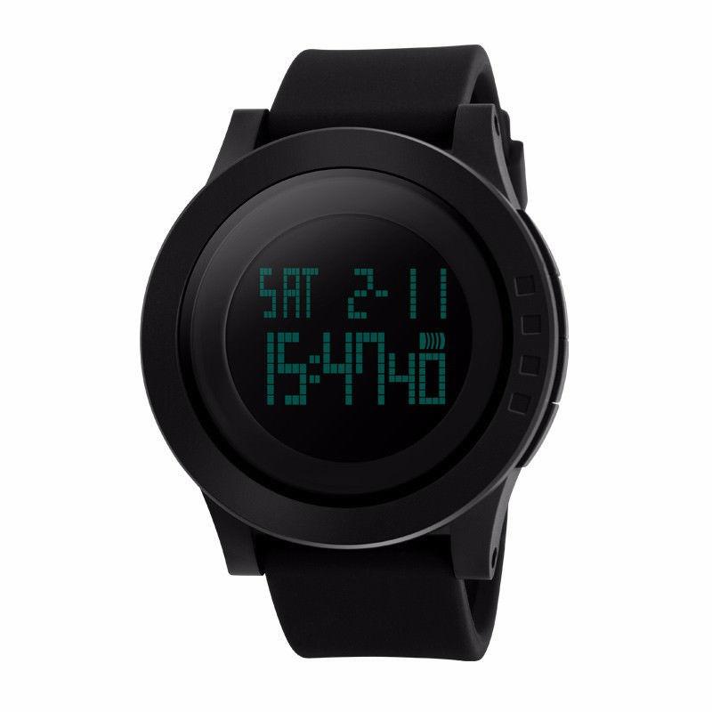 b90404c60 Hodinky SKMEI 1142 (pánské sportovní digitální vodotěsné hodinky) - černé  empty