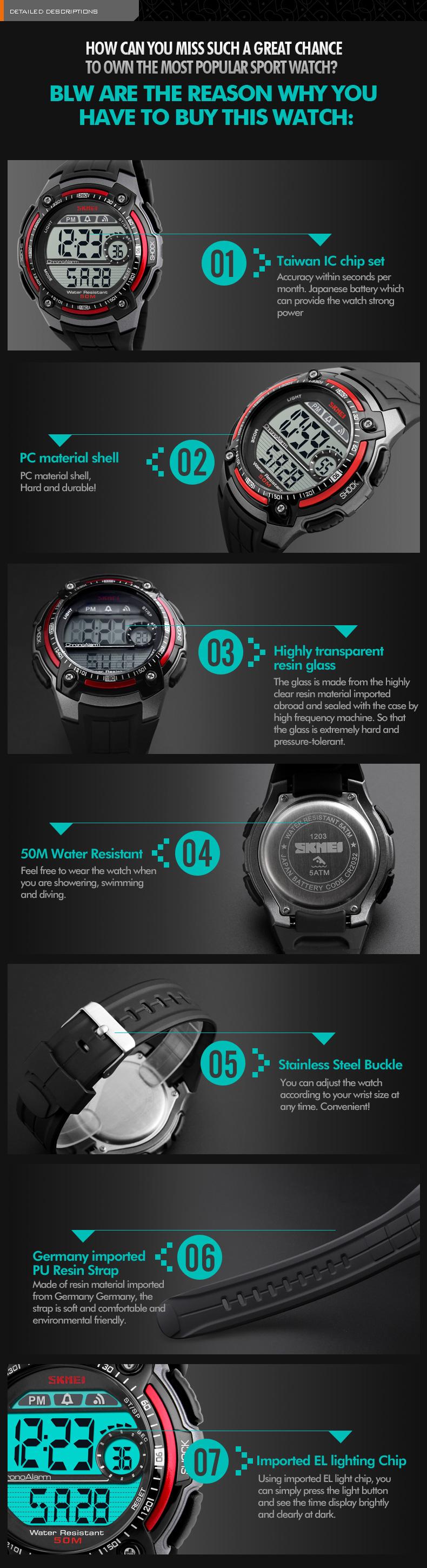Kompletní specifikace · Ke stažení · Související zboží (0) · Komentáře (0).  Pánské značkové hodinky SKMEI 1203 TITANIUM. Digitální hodinky vodotěsné ... a6a2098049