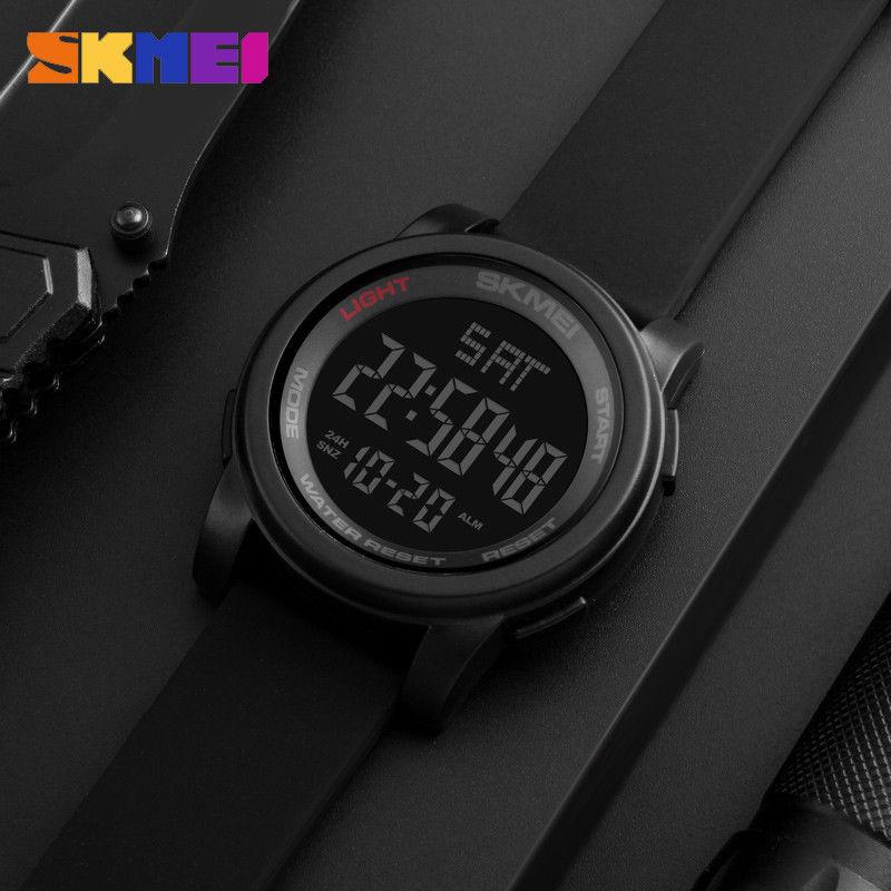 Kompletní specifikace · Ke stažení · Související zboží (1) · Komentáře (0).  Pánské značkové hodinky SKMEI 1257. Digitální hodinky vodotěsné do 50 m 77ac1eaa9ee
